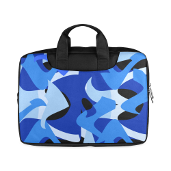 "Camouflage Abstract Blue and Black Macbook Air 11""(Twin sides)"