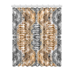 "Luxury Abstract Design Window Curtain 52"" x 63""(One Piece)"