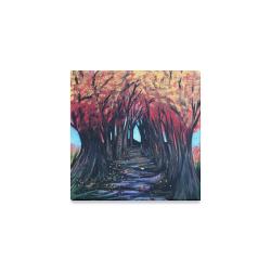 "Autumn Day Canvas Print 6""x6"""