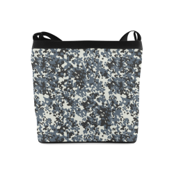 Urban City Black/Gray Digital Camouflage Crossbody Bags (Model 1613)