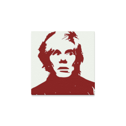 "Andy Warhol Canvas Print 8""x8"""