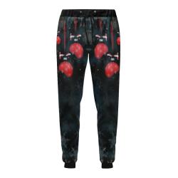 Christmas by Nico Bielow Men's All Over Print Sweatpants (Model L11)