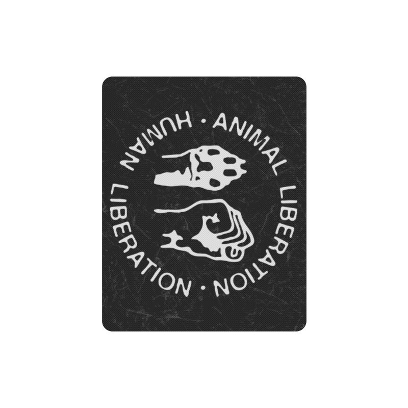 Animal Liberation, Human Liberation Rectangle Mousepad