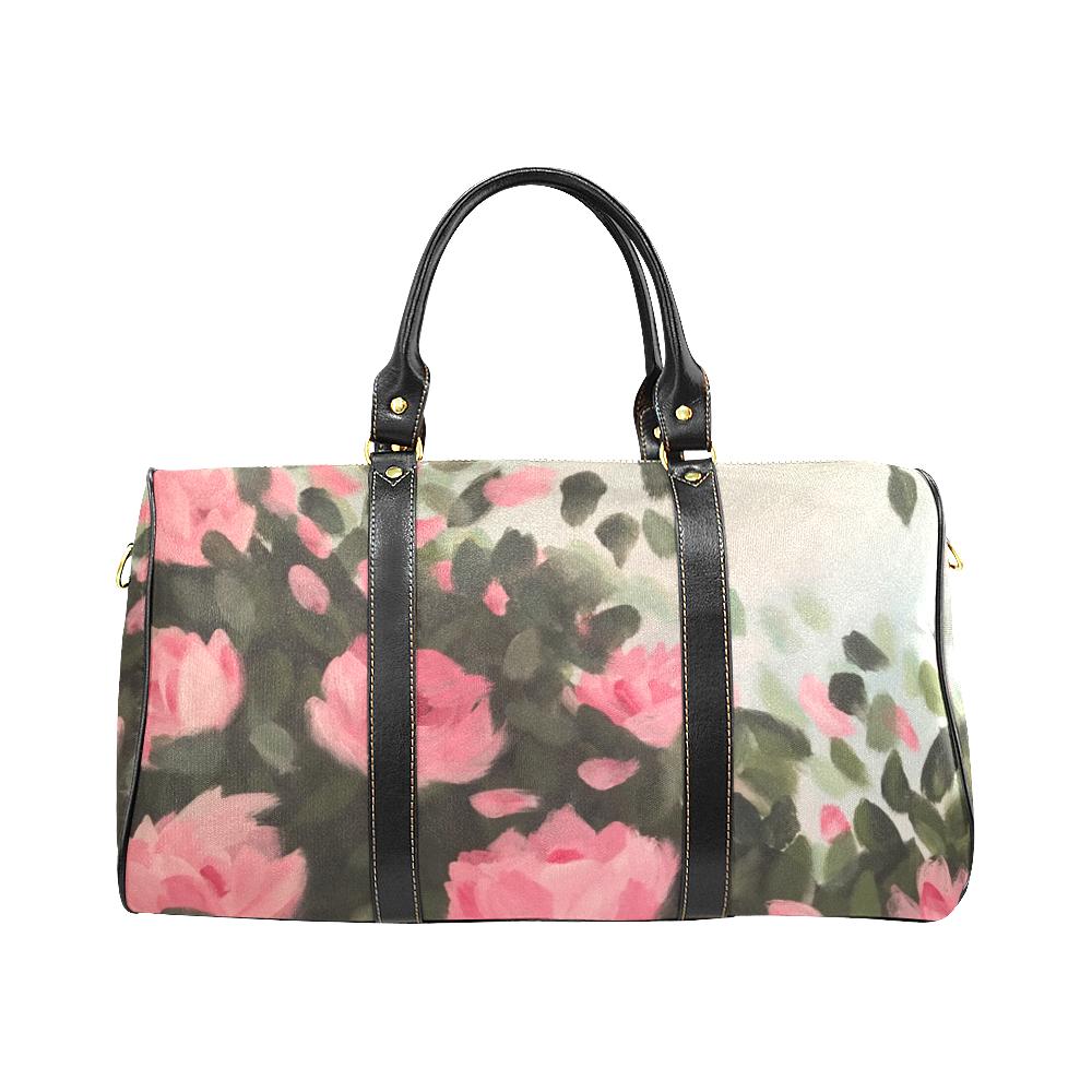 Roses & Bushes New Waterproof Travel Bag/Large (Model 1639)