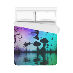 "Happy fairy in the night Duvet Cover 86""x70"" ( All-over-print)"
