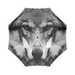 Wolf Animal Nature Foldable Umbrella (Model U01)