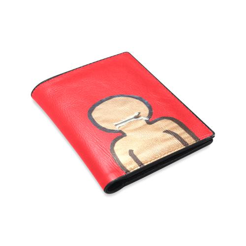 keeping secrets Men's Leather Wallet (Model 1612)