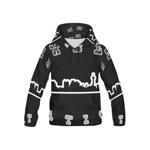 Sweep Nation - SA All Over Print Hoodie for Kid (USA Size) (Model H13)