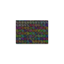 """Ripped SpaceTime Stripes Collection Canvas Print 7""""x5"""""""