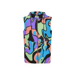 Seen_Womens_SleevelessZipper_Hoodie All Over Print Sleeveless Zip Up Hoodie for Women (Model H16)