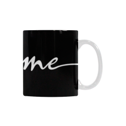 Romantic je t'aime - french love - white Custom White Mug (11OZ)