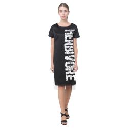 Herbivore (vegan) Short Sleeves Casual Dress(Model D14)