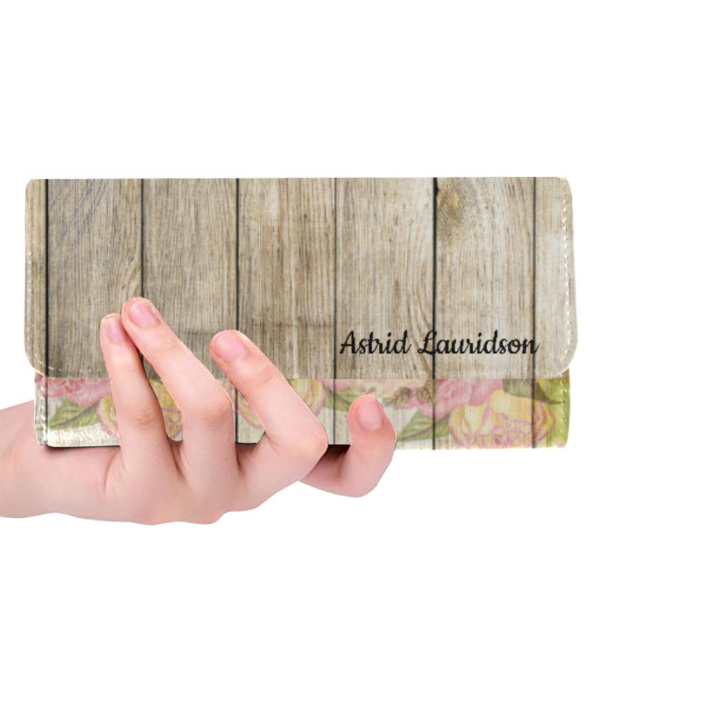 16rw Women's Trifold Wallet (Model 1675)