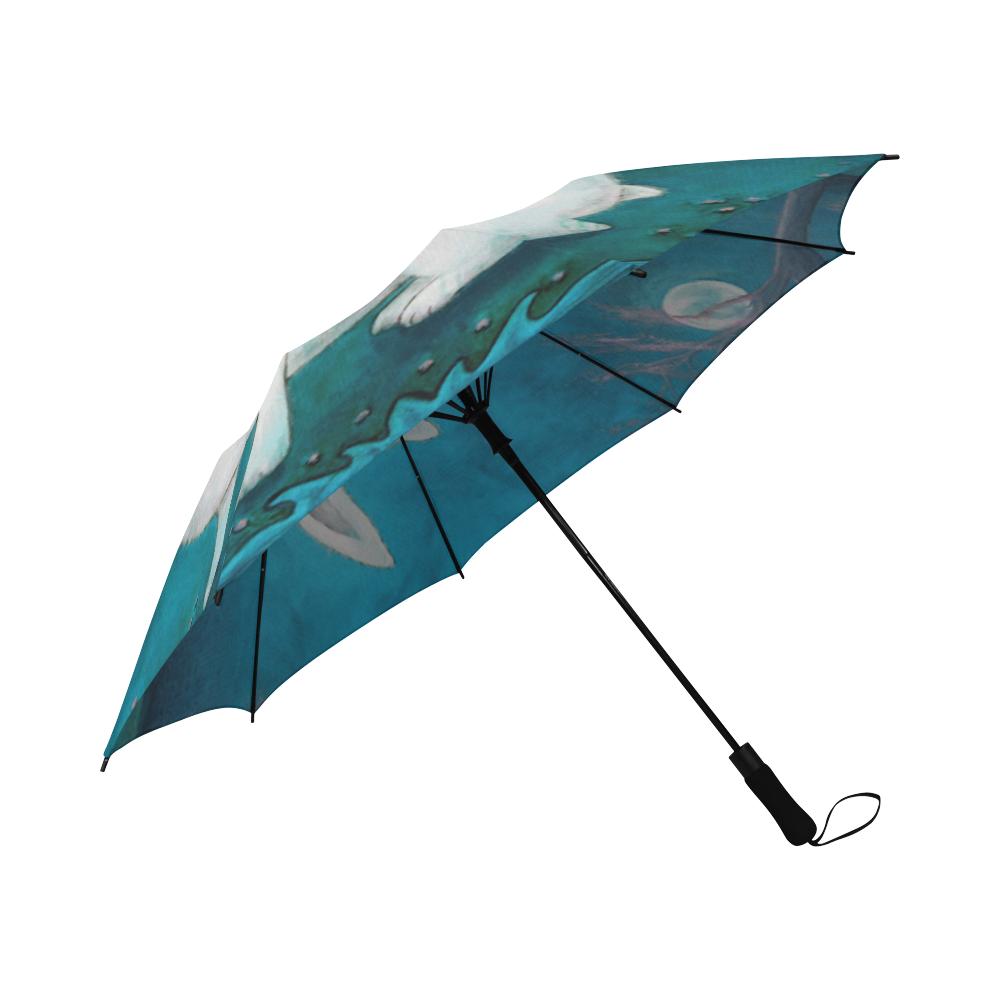 Rabbit Secrets Semi-Automatic Foldable Umbrella (Model U05)