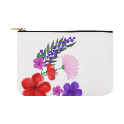 BUNCH OF FLOWERS Carry-All Pouch 12.5''x8.5''