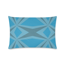 """Abstract pattern geometric backgrounds Custom Zippered Pillow Case 16""""x24""""(Twin Sides)"""