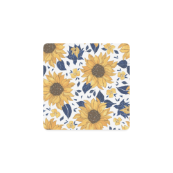 Sunflowers Square Coasters Square Coaster