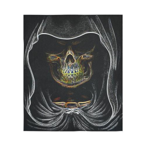 "3D Hologram Grim Reaper Black Light Cotton Linen Wall Tapestry 51""x 60"""