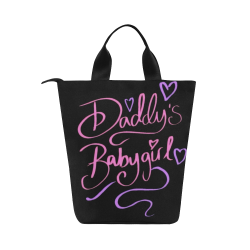 Daddy's Babygirl Nylon Lunch Tote Bag (Model 1670)