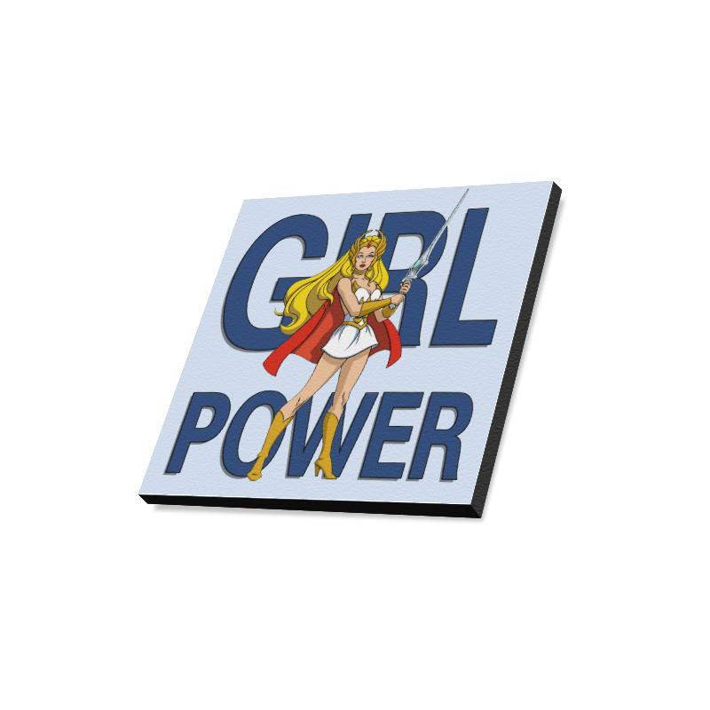 "Girl Power (She-Ra) Canvas Print 16""x16"""