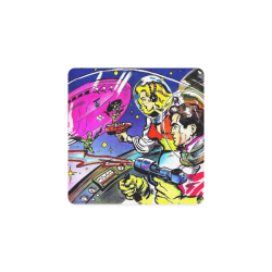 Battle in Space 2 Square Coaster