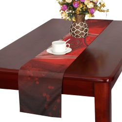 Heart with wings Table Runner 16x72 inch