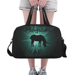 Unicorn - Magical AF Fitness Handbag (Model 1671)