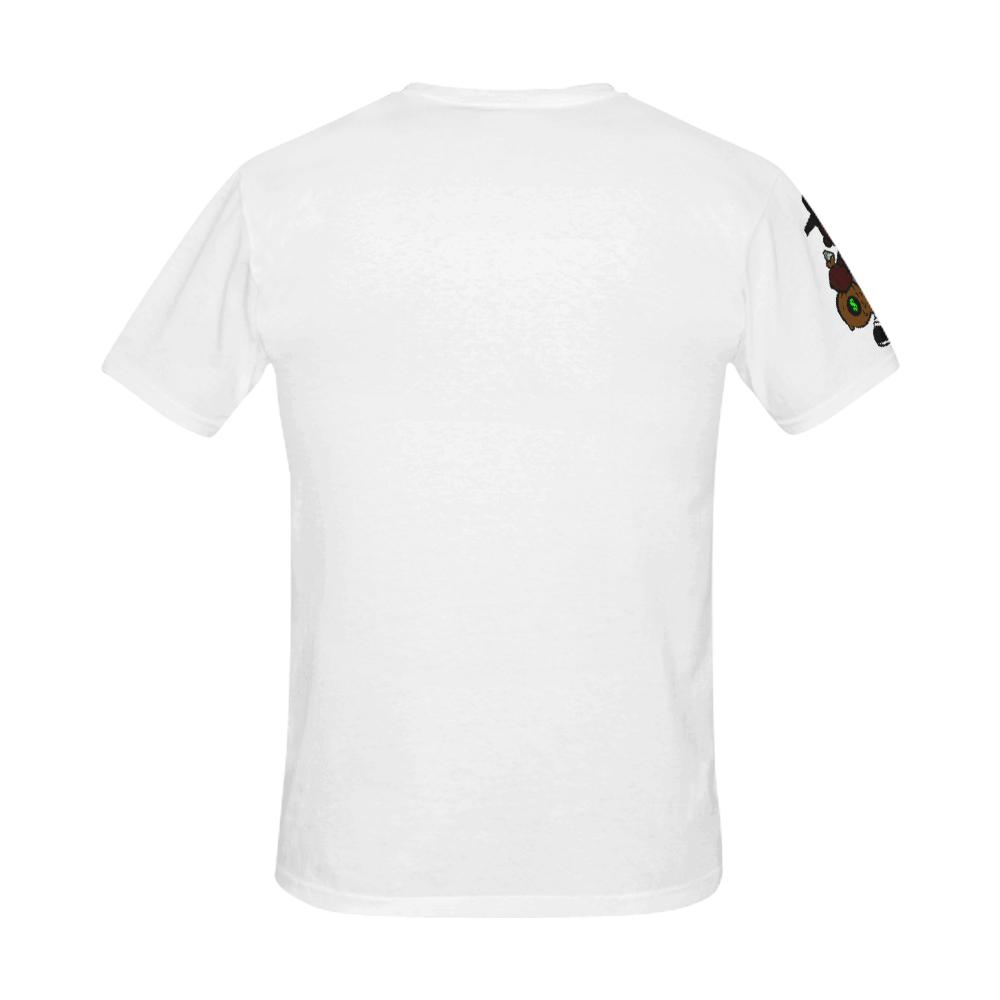 AGNP BOY grey All Over Print T-Shirt for Men (USA Size) (Model T40)