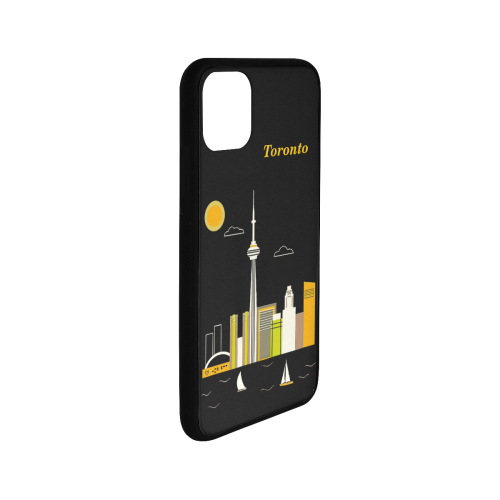 """Toronto Rubber Case for iPhone 11 Pro Max 6.5"""""""