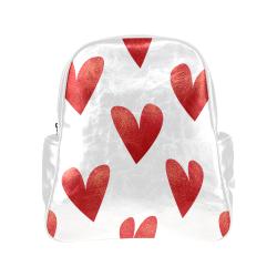 Hearts Multi-Pockets Backpack (Model 1636)
