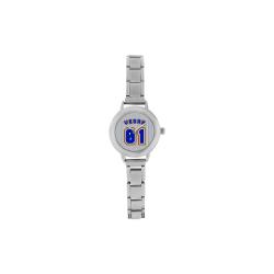 No. 1 Vegan Women's Italian Charm Watch(Model 107)