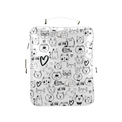 Meow Cats Square Backpack (Model 1618)