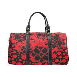 FLORAL DESIGN 46 New Waterproof Travel Bag/Small (Model 1639)