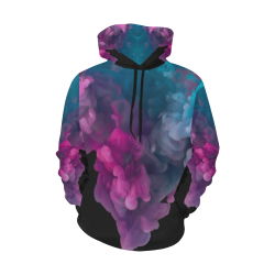 3D wallpaper All Over Print Hoodie for Women (USA Size) (Model H13)