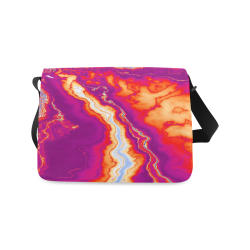 Neon Geode Messenger Bag (Model 1628)