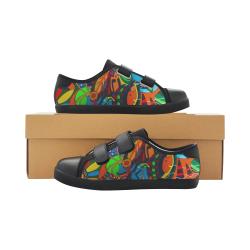 Laetus Velcro Canvas Kid's Shoes (Model 008)
