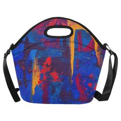 oil_l Neoprene Lunch Bag/Large (Model 1669)