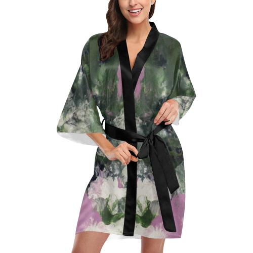 Pixie Flowers Kimono Robe