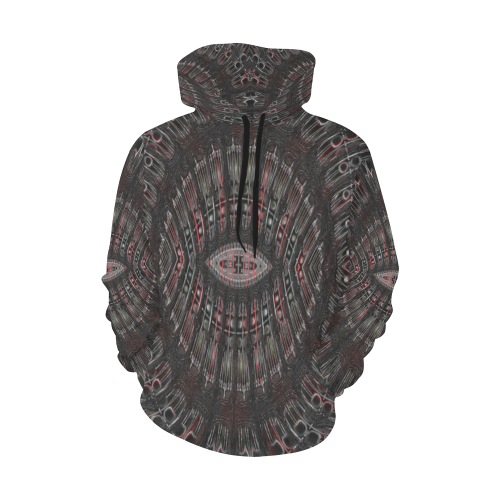 8000  EKPAH 22 low sml All Over Print Hoodie for Men/Large Size (USA Size) (Model H13)