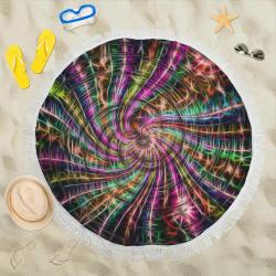 "galaxy 420 Circular Beach Shawl 59""x 59"""