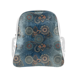 Mandalas Multi-Pockets Backpack (Model 1636)