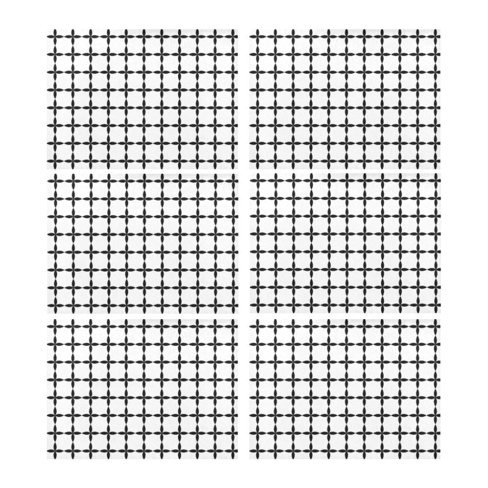 36sw Placemat 14'' x 19'' (Six Pieces)