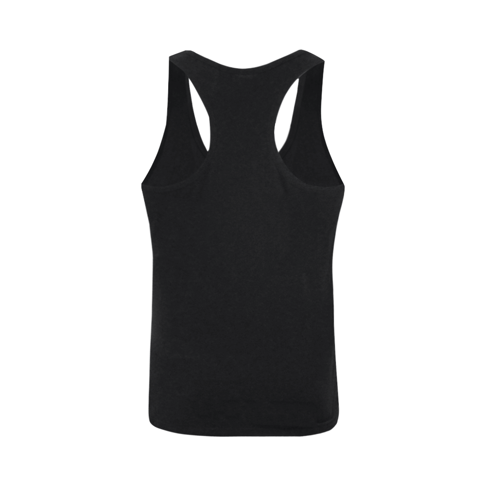 Abstract #7 2020 Plus-size Men's I-shaped Tank Top (Model T32)