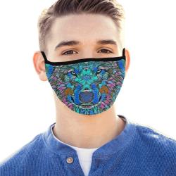 WOLF ART MASK Mouth Mask