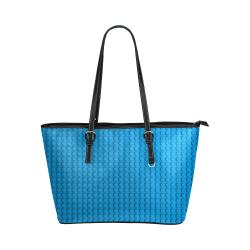 PLASTIC Leather Tote Bag/Large (Model 1651)