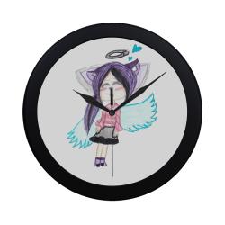 Shira Werewolf Clock Circular Plastic Wall clock