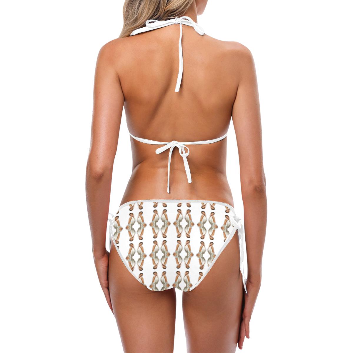 kylie pattern2 Custom Bikini Swimsuit (Model S01)