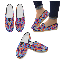 Modern Geometric Pattern Casual Shoes for Women (Model 004)