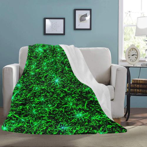 "Sparkling Green - Jera Nour Ultra-Soft Micro Fleece Blanket 60""x80"""
