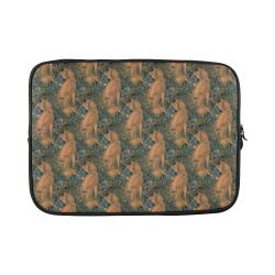 "Fox pattern Custom Sleeve for Laptop 15.6"""